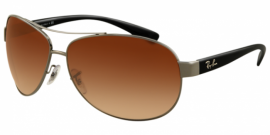 Gafas de sol Ray-Ban RB3386 ACTIVE LIFESTYLE 004/13 GUNMETAL - BROWN GRADIENT