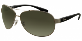 Gafas de sol Ray-Ban RB3386 ACTIVE LIFESTYLE 004/71 GUNMETAL - GREEN