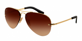 Gafas de Sol Ray-Ban RB3449 001/13 ARISTA - BROWN GRADIENT