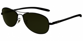 Gafas de Sol Ray-Ban RB8301 2 BLACK - CRYSTAL GREEN