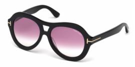 Gafas de Sol Tom Ford FT0514 ISLAY 01Z negro brillo /violet