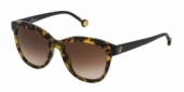 Gafas de Sol Carolina Herrera SHE743 0778 NEGRO - MARRÓN DEGRADADO