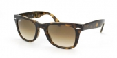 Gafas de Sol Ray-Ban RB4105 FOLDING WAYFARER 710/51 LIGHT HAVANA - CRYSTAL BROWN GRADIENT