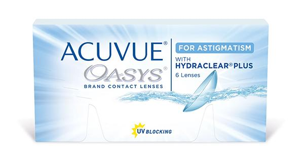 ACUVUE OASYS 6 FOR ASTIGMATISM
